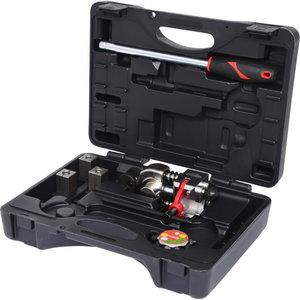 Universal brake flaring tool set, 12 pcs, Kstools
