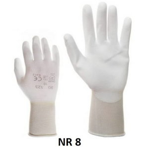 Elastic PU gloves nr. 123 8