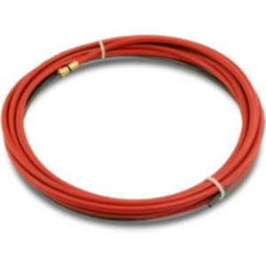 Steel liner 1,0-1,2mm 5,0m red, Abimig and MB torches, Binzel