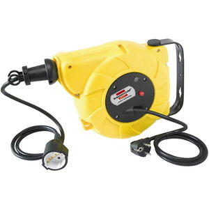 Automatic cable reel  9+2m, 230V, wall mounted, 3x1,5mm, Brennenstuhl