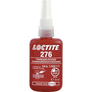 Threadlocker (high strength, 60Nm)  276 50ml, Loctite