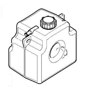 Tank coolant expan, JCB