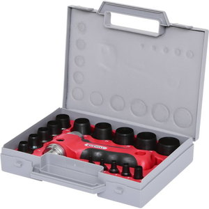 Hole punch set 3-30mm 16-pcs, KS Tools