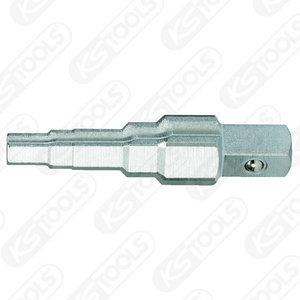Padrun astmeline 3/8´´-1/2´´-3/4´´-1´´, KS Tools