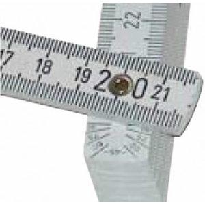 Wooden folding rule 2m with angle markings, Vögel