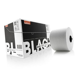 Black tualetes papīrs, balts, 2 kārtas, 100m, Satino