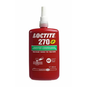 Vītņu līme  270 high strength 250ml, Loctite