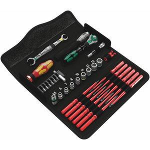 Tööriista kmpl 35 osa Kraftform Kompakt W 1, Wera