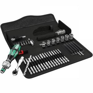 Antgalių ir įrankių komplektas Kraftform Kompakt H 1 holz, Wera
