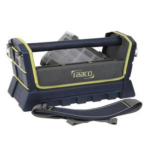 "Atvērtā tipa instrumentu kaste Tool Taco 20"", Raaco"