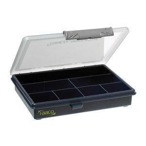 Sortimenta kaste 6-7 ar 7 fiksētiem nodalījumiem, Raaco