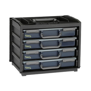 Instrumetu kaste Handybox 55x4+ 2x 8-15, 2x8-17, Raaco