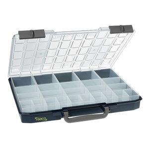 Carrylite asortimentinė dėžutė 55x5x10-25/2, Blue, Raaco