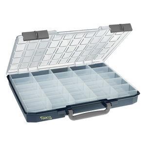 Carrylite asortimentinė dėžutė 55x5x10-25/1, mėlyna, Raaco