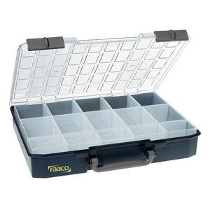 Instrumentu kaste Carrylite 80 5x10-15, zila, Raaco