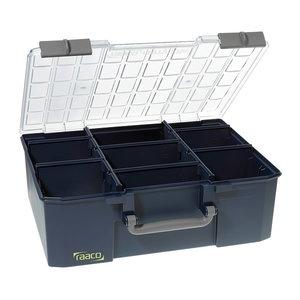 Asortomentinė  dėžutė Carrylite 150-9, mėlyna, Raaco