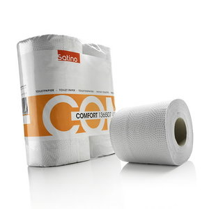 Comfort tualetinis popierius 2-sluoksniai, Satino