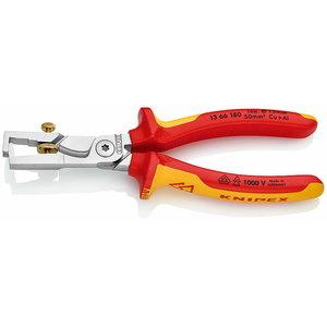 Kabelių nužievinimo įrankis STRIX su žnyplėmis 10mm2 VDE, Knipex