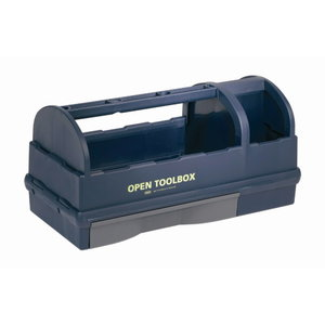 Open toolbox 230 x 476 x 228mm raaco blue, Raaco