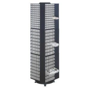 Spintelė pasukama 1200  telpa 12x1200 dėžutės, Raaco