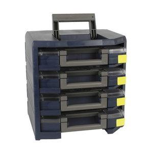 HandyBoxxser 4x5x5 su 4x boxxser 55 5x5-15 mėlynas, Raaco