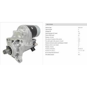 STarter JS 24V 714/40236, TVH Parts