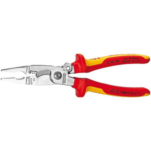 Multifunctional electrician pliers 200mm - VDE with lock, Knipex
