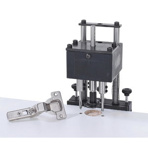 The drilling mask for hinges
