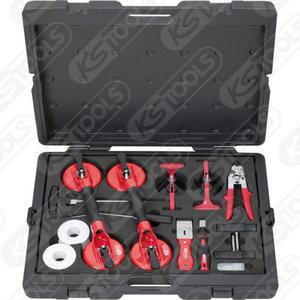 MASTER stiklų montavimo ir išmontavimo komplektas, 13 dalių, KS tools