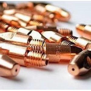 Contact tip CuCrZr M8x40x10 - 1,0mm, Binzel