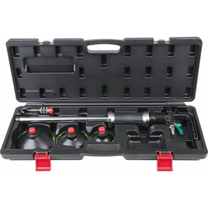 Pneumatic vacuum dent puller set, 5 pcs, Kstools