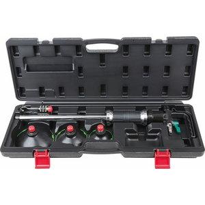 Pneumatic vacuum dent puller set, 5 pcs, KS Tools