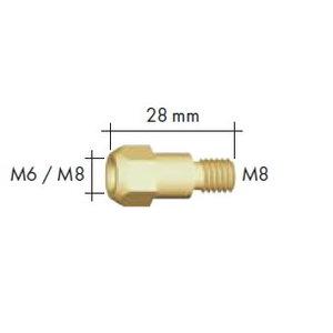 Kontaktinio antgalio laikiklis MB 36 M6/M8 28mm, Binzel