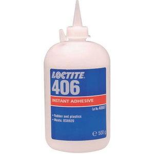 Kiirliim (plastmassid, kummid) LOCTITE 406 500g