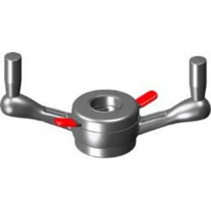 ProGrip Tr 40 x 4 mm with turning handles, Haweka
