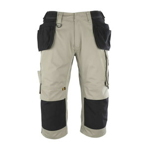 Trousers with holsterpockets 3/4 Lindau khaki, , Mascot