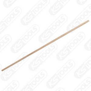 Wooden handle f. broom, 1500x28mm, Kstools