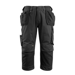 Trousers with holsterpockets 3/4 Lindau black C52, Mascot