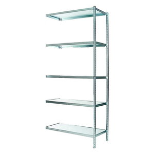 Extension set 5+2 for shelving S450-40, Raaco
