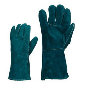 Gloves, Welding, Green Calf leather lining 10