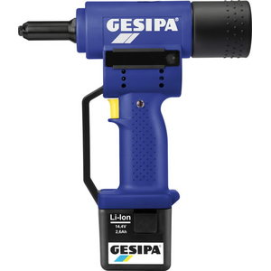 Electric rivet Powerbird with battery, Gesipa