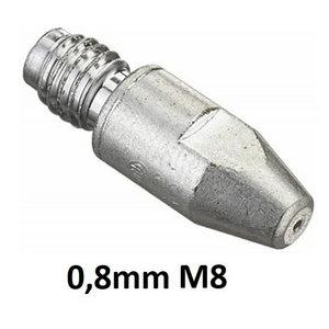 Kontaktsuudmik CuCrZr M8x30x10-0,8mm, Binzel