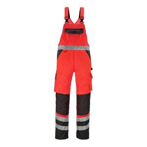 Töötraksipüksid Trofa kõrgnähtav punane/hall, 82C58, Mascot