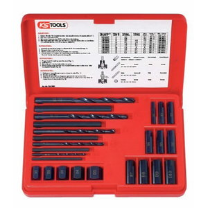 Thread extractor se M6-M16 25pcs, KS Tools