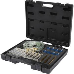 Sissepritsedüüside testimise komplekt, 65 osa, KS Tools