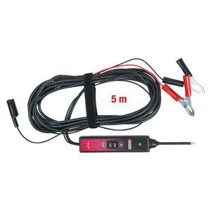 Test probe 6-24V DC with 5 m cable, KS Tools