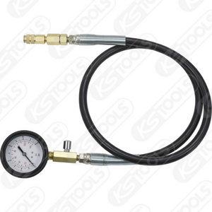 Manometer with tube, 10 bar, KS Tools