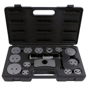 Brake piston windback tool set, 15 pcs, KS Tools
