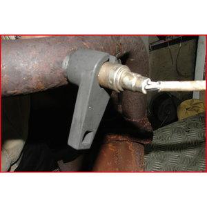 """Lambda zondo galvutė, 22mm, plokščia, 3/8"""", KS Tools"""