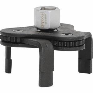 """""""Nuimtuvas tepalo filtrui, Ø 63-102 mm, 3/8""""""""+1/2"""""""""""", KS Tools"""